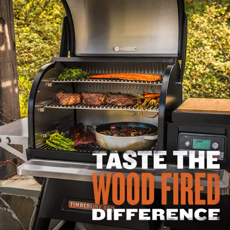 Traeger Grills - Taste The Wood Fired Difference - Timberline 850