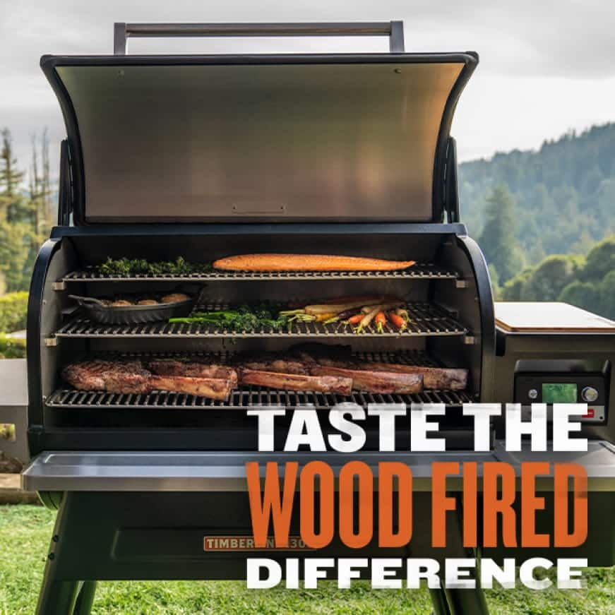 Traeger Grills - Taste The Wood Fired Difference - Timberline 1300
