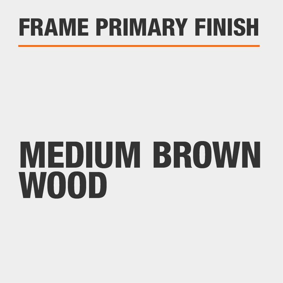 Frame Primary Finish Medium Brown Wood