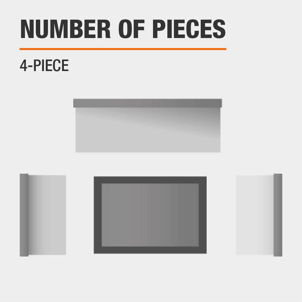 Number of Pieces 4-Piece