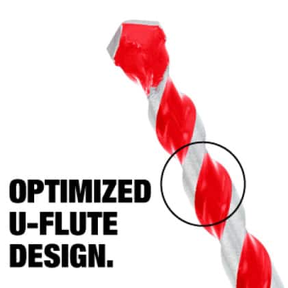 This is an image of an optimized U-flute design.