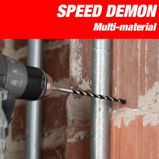 This is an image of Diablo's multi-material speed demon drill.