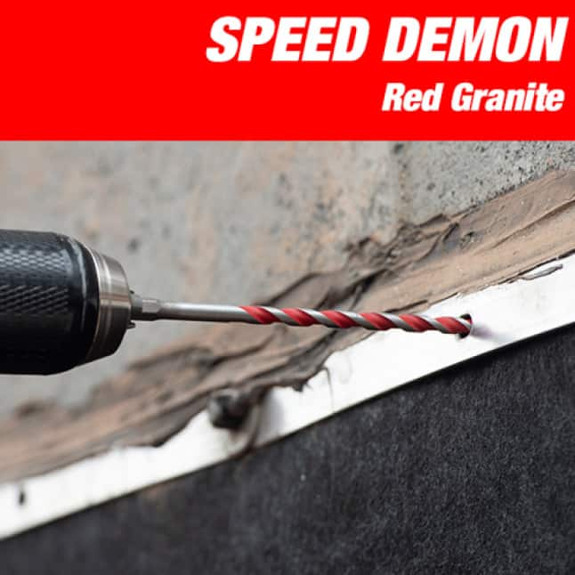 This is an image of Diablo's speed demon granite drill.