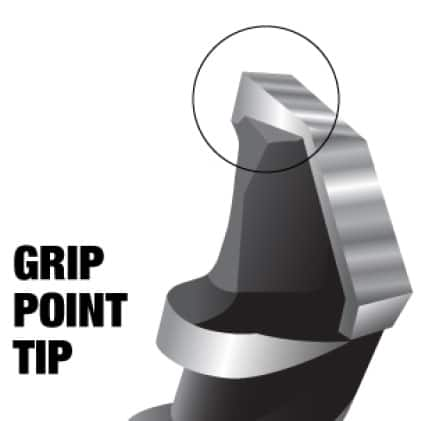 This is an image of Diablo's multi ground grip point tip.