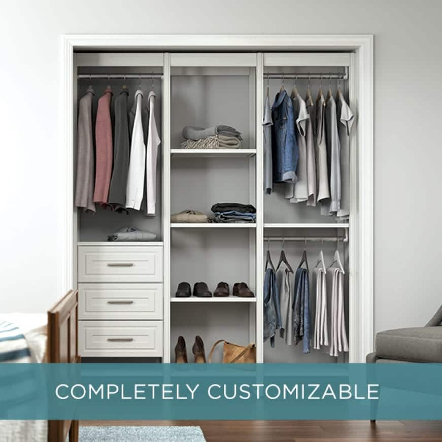Image of Closets by Liberty 6 ft closet system