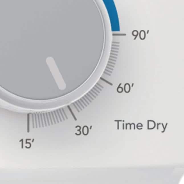 4 Timed dryer cycles