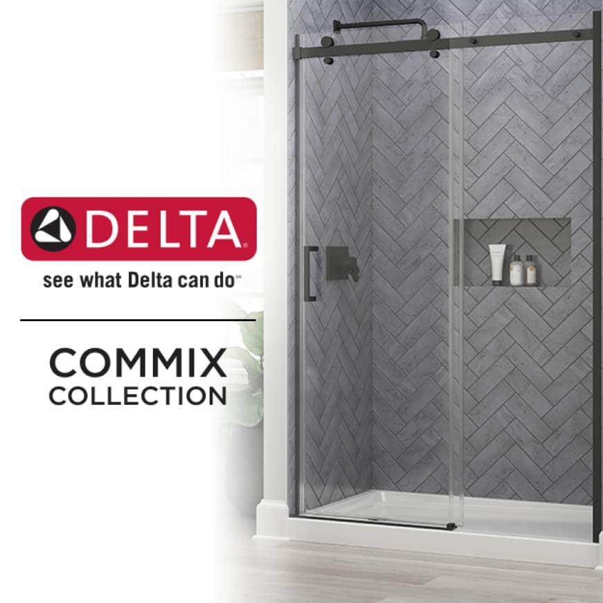 Commix Shower Door Collection