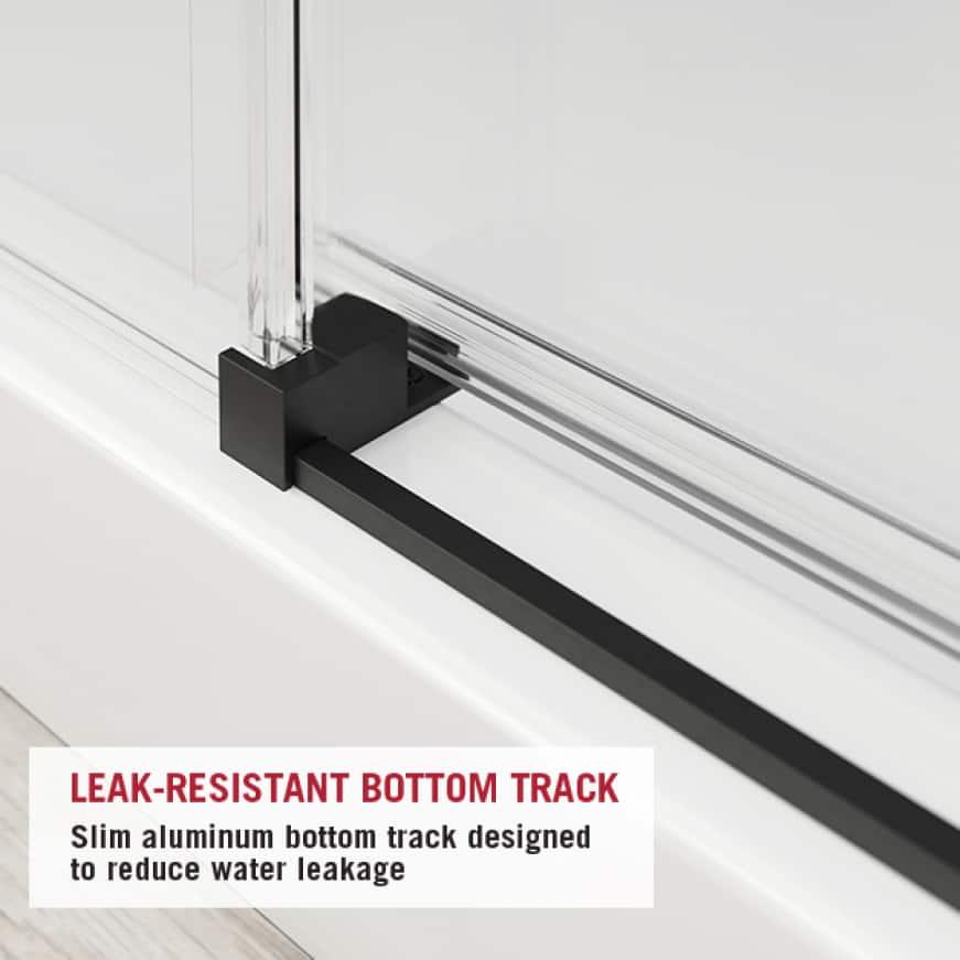 Leak Resistant Shower Door
