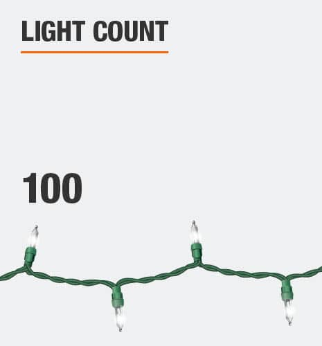 Light count is 100
