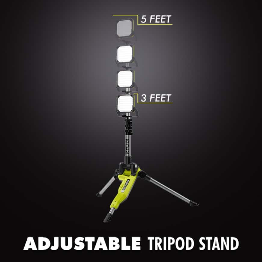 Adjustable LED Tripod Stand