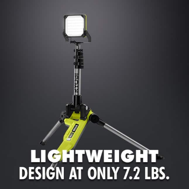 Lightweight Tripod Design