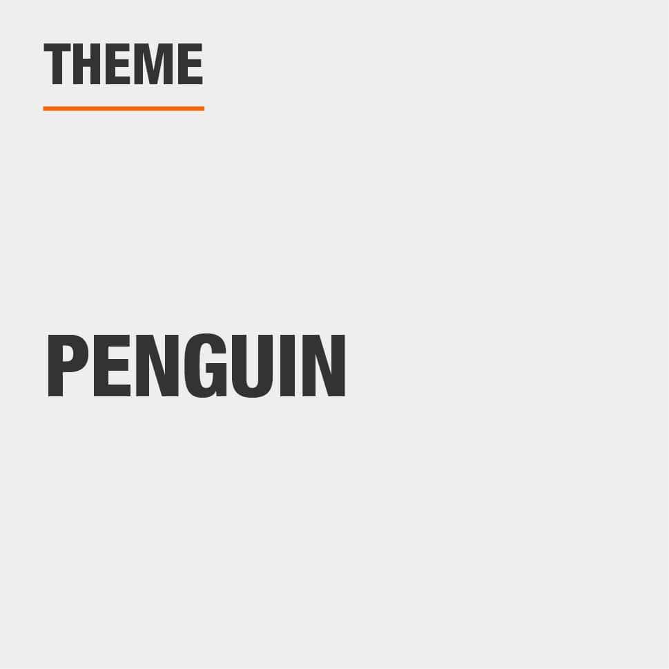 Item Theme is Penguin