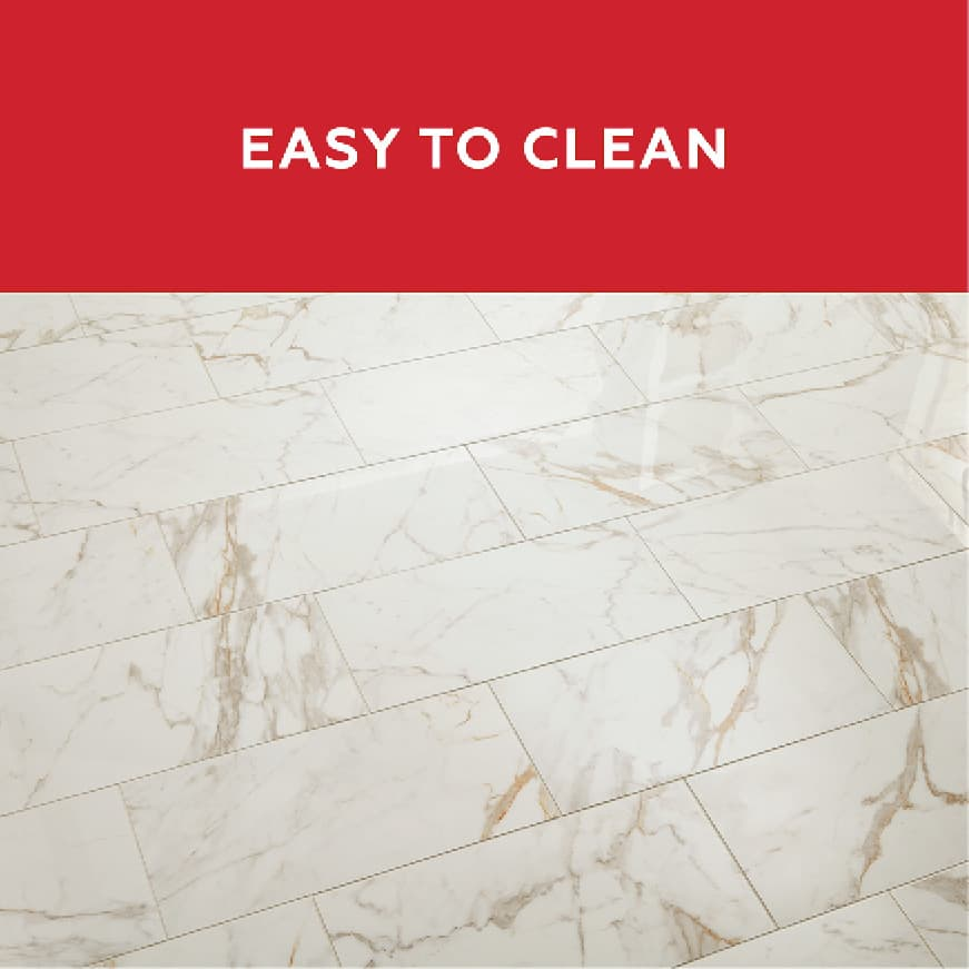 QuicTile Grout is low maintenance because it is easy to clean.  No sealing required.