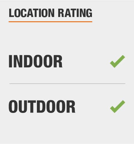 This item is rated indoor/outdoor