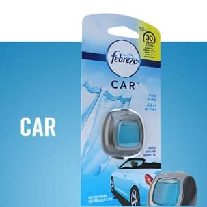 Take Freshness on the road with Febreze CAR Vent Clips.