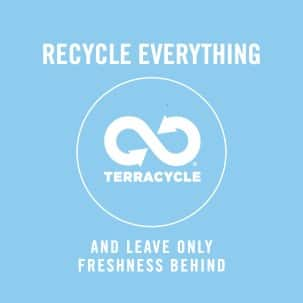 Every piece of your Febreze product is recyclable. Leave nothing but fresh air behind.