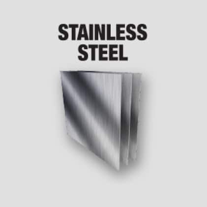 Stainless Steel, Angle Iron, Unistrut, Threaded Rod, Steel, and Aluminum