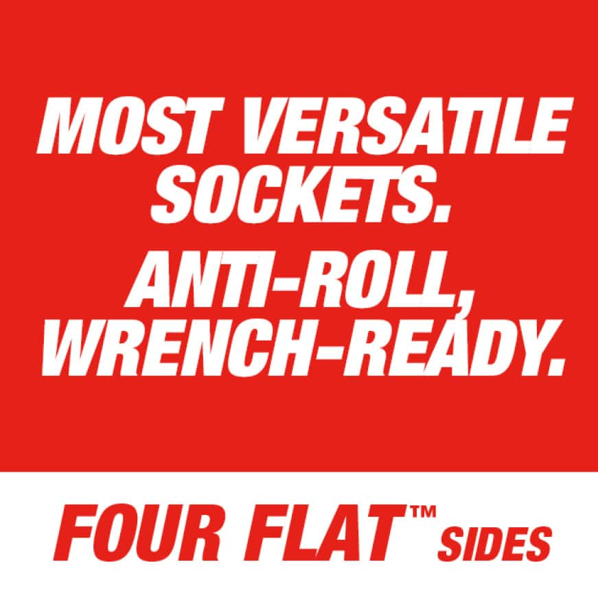 ANTI-ROLL, WRENCH-READY.