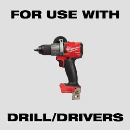 For Use With Drill/Drivers