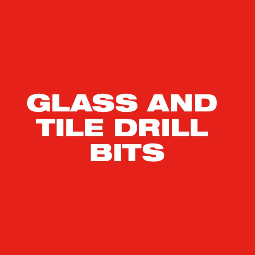 For use in glass and ceramic tile