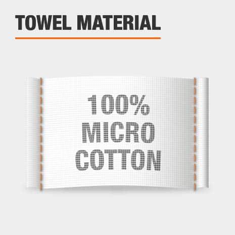100% Microcotton Bath Towels