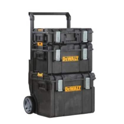 DWST08250203130 DEWALT 3pc ToughSystem Tool Box Tower
