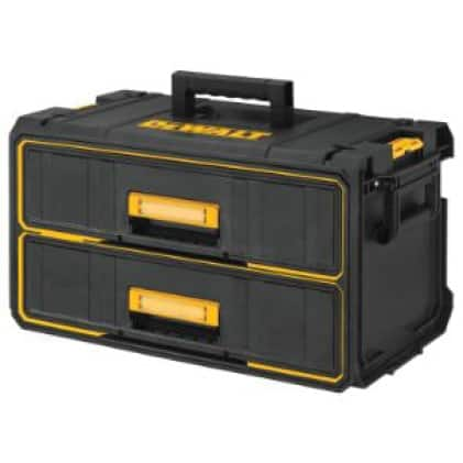 DWST08290 ToughSystem 2-Drawer Tool box with Water Seal