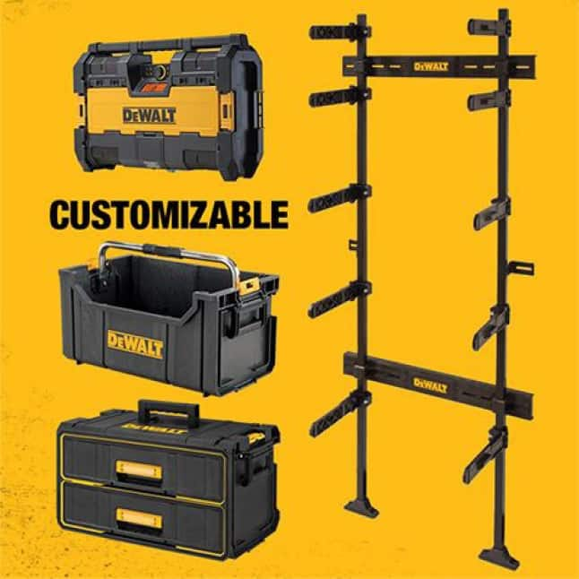 ToughSystem Tool Box Compatible Customizable