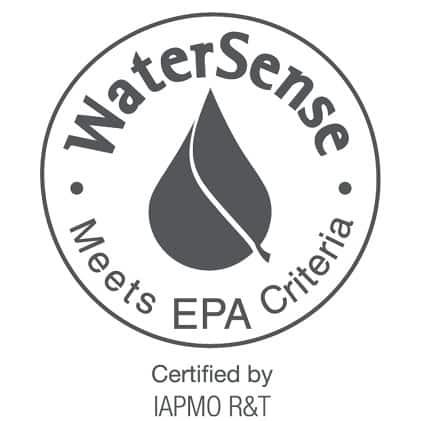 Water Sense Certified