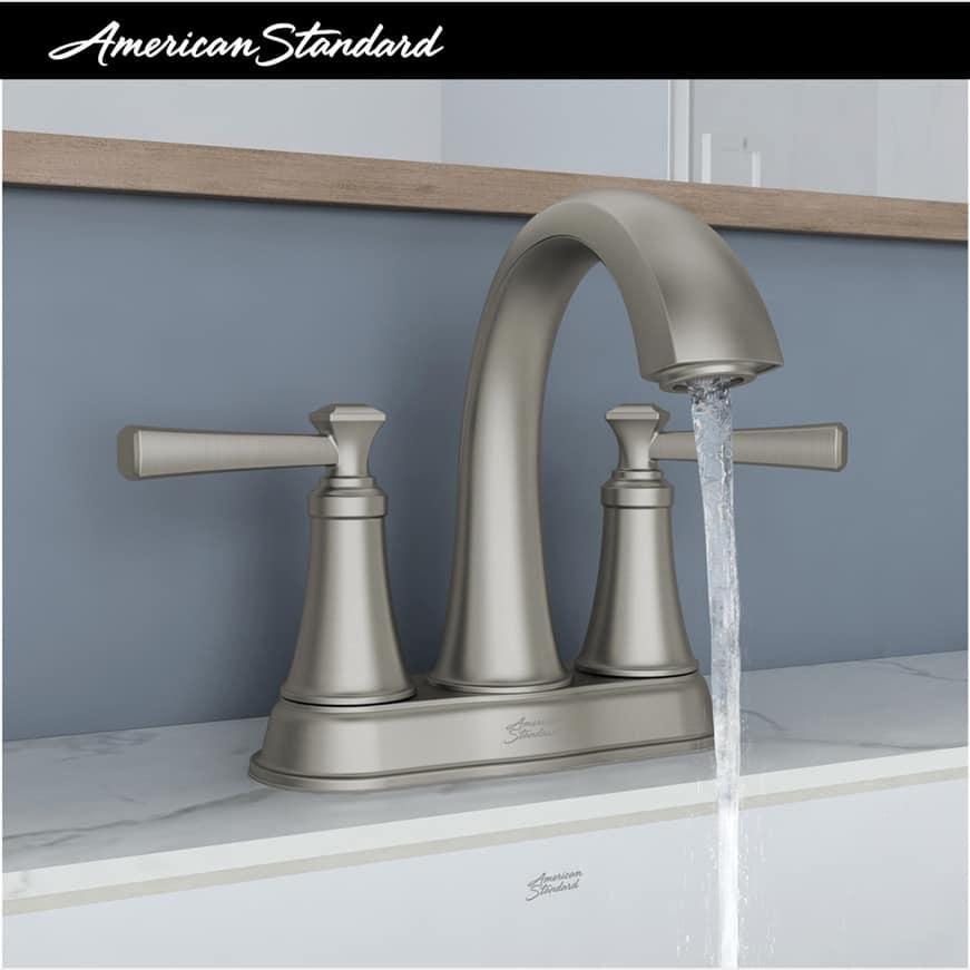 Rumson 4 in. Centerset 2-Handle Bathroom Faucet