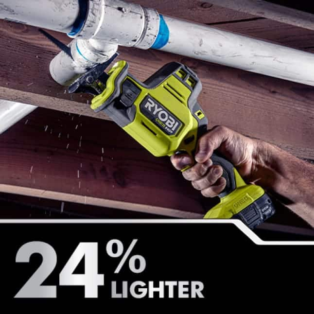 24% Lighter Weight