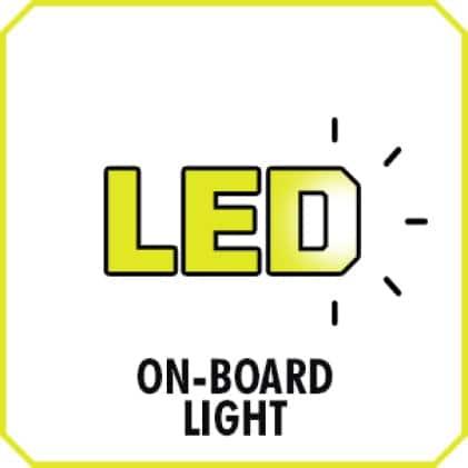 On-Board LED Work Light