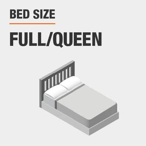 Full/Queen bed size