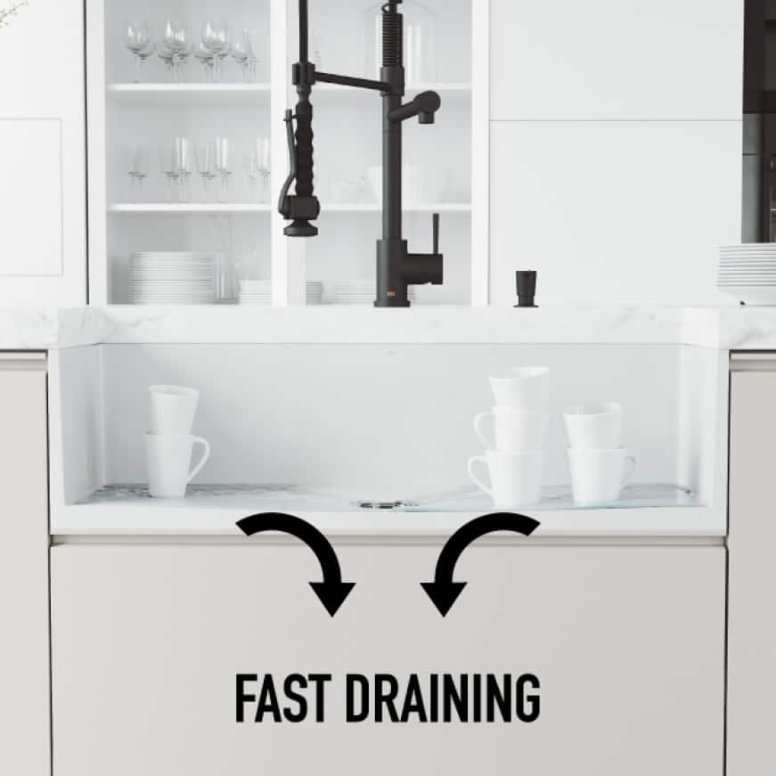 Fast Draining