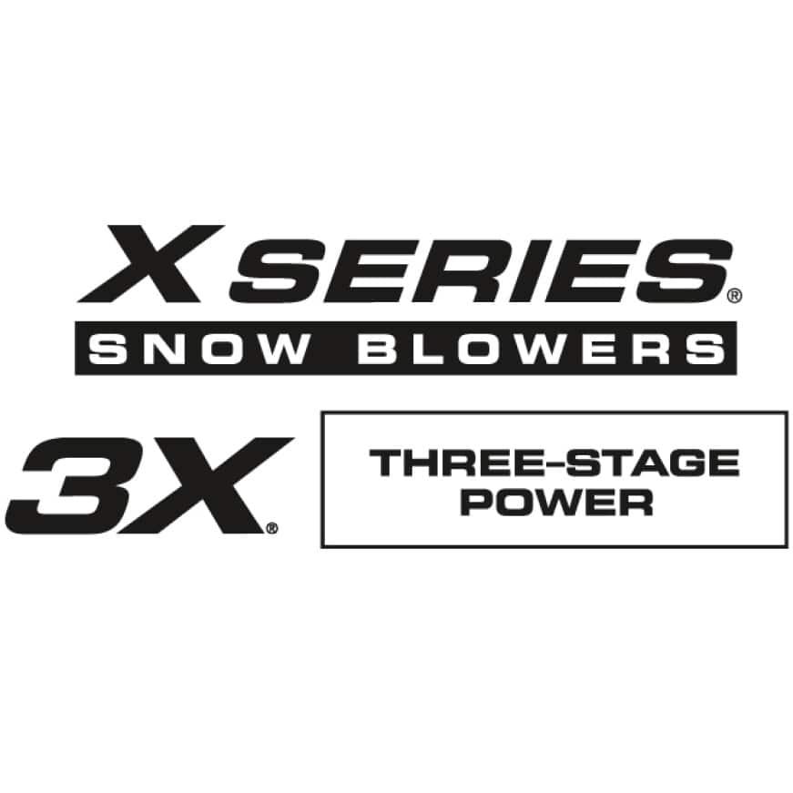 Cub Cadet 3X Three Stage Snow Blowers