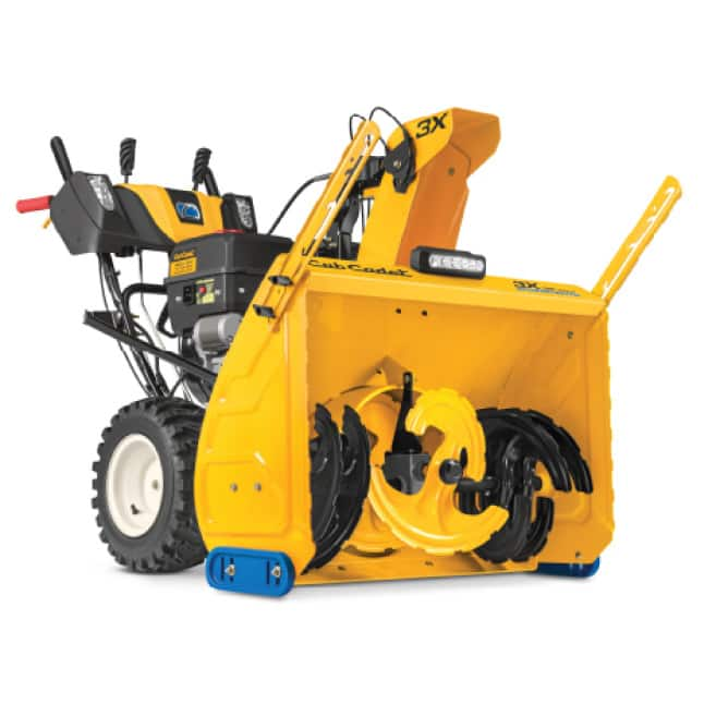Cub Cadet three-stage snow blower, commercial- grade features and durability