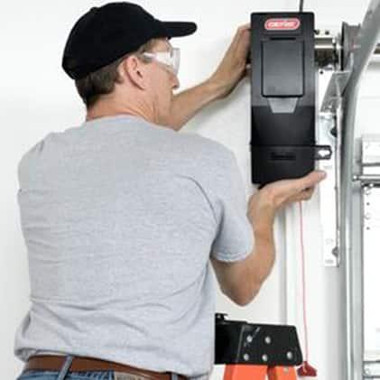 The Genie Wall Mount Garage Door Opener easy to install