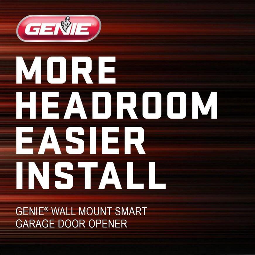 The Genie Wall Mount Garage Door Opener easy install