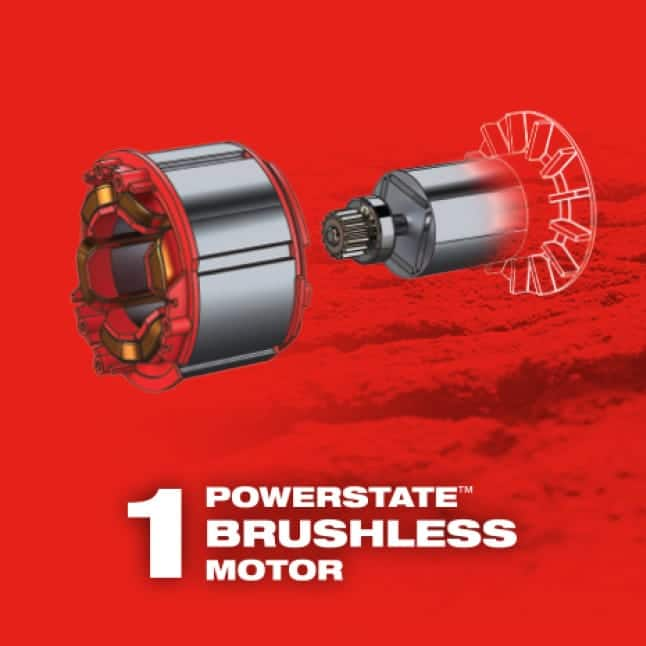 M12 FUEL brushless motor power tools maximize efficiency and lifespan