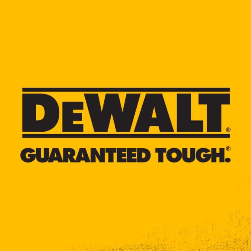 DEWALT power tools are made to live on the jobsite. That is where they are tested and if there is a problem, it's where we solve it.
