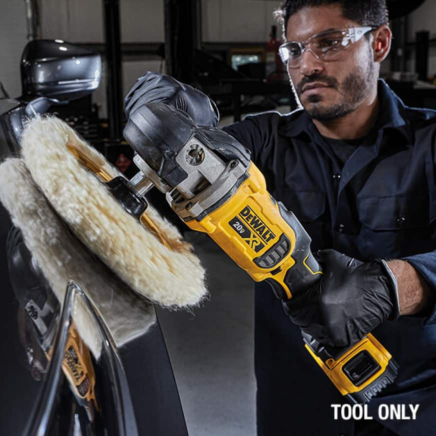 DEWALT brushless motor delivers up to 50% more run time over brushed at 4.8 lbs.
