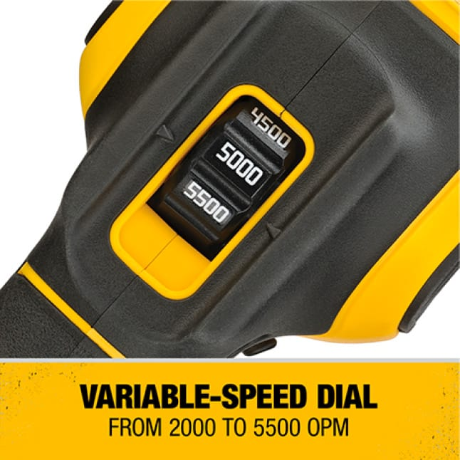 Helps to better control the tool during every step of the application.