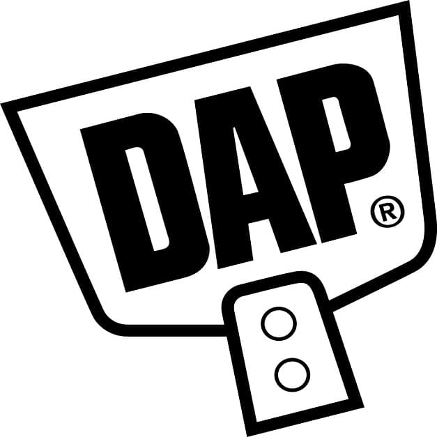 DAP trowel Logo