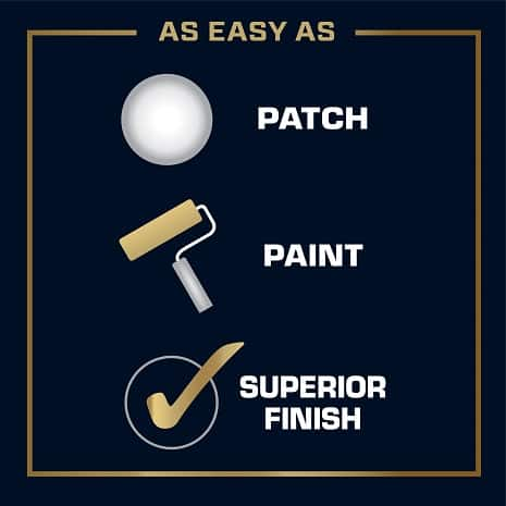 Easy to use product, patch, paint and finish