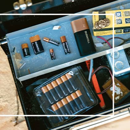 Hero shot of all products in toolkit