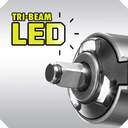 Tri-Beam LED Worklights