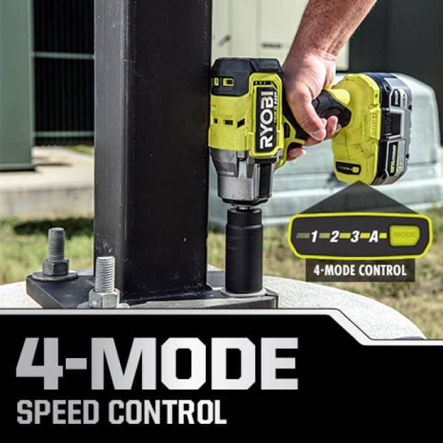 4-Mode Speed Control