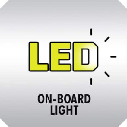 On-Board LED Worklight