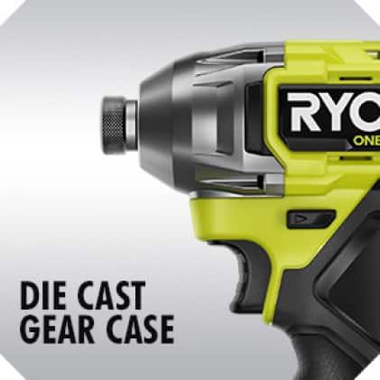 Impact Driver: Die Cast Gear Case