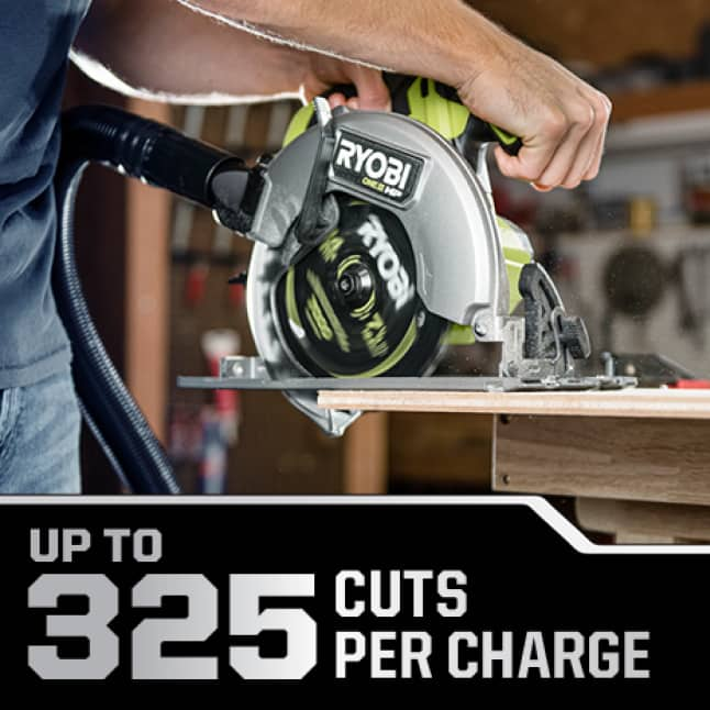 Up to 325 Cuts Per Charge
